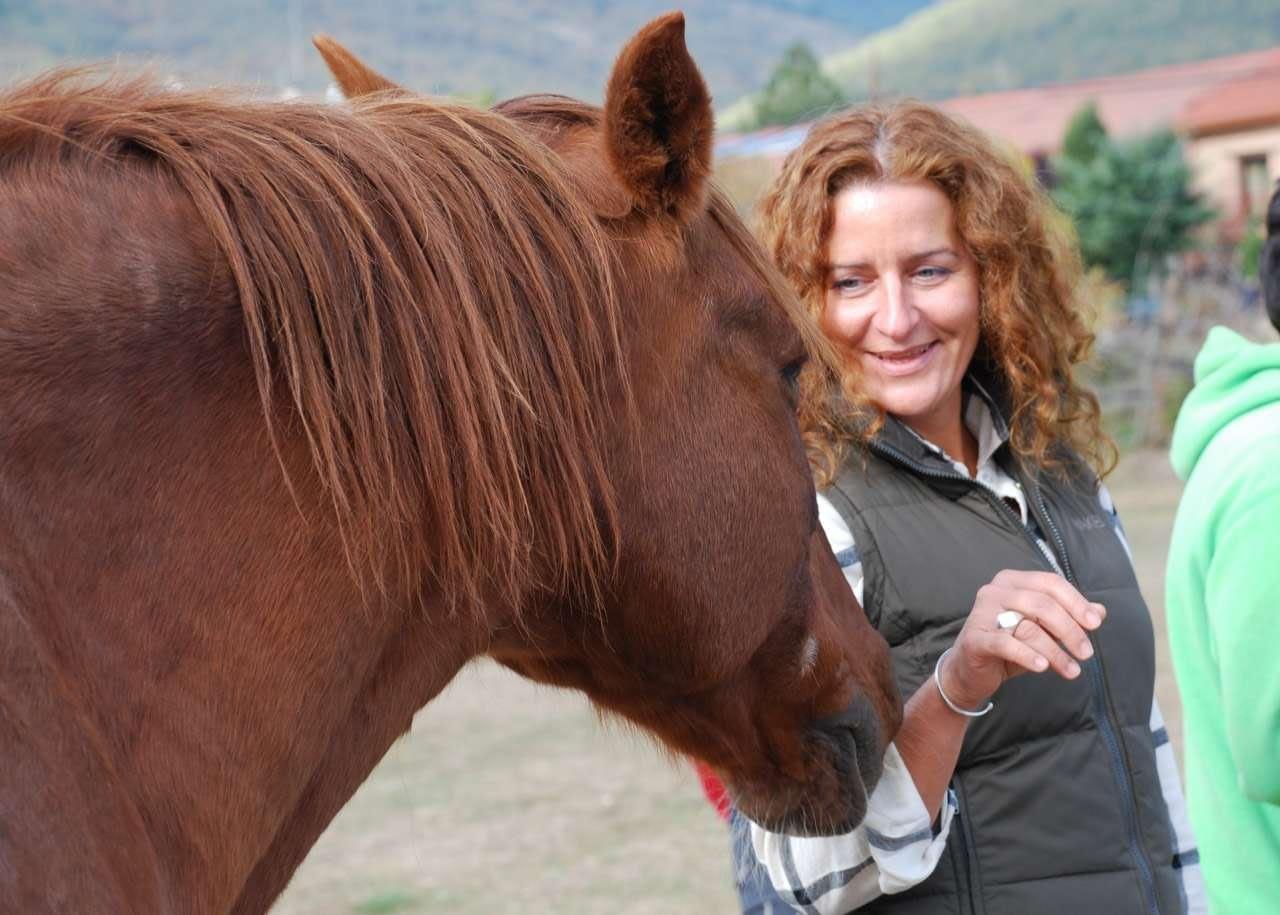 Mi reflejo en los caballos
